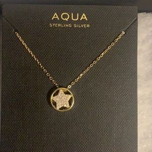 18k gold plated Sterling silver star necklace
